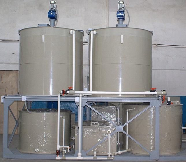 Емкости для водоочистных установок 1