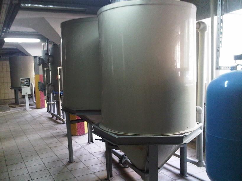 Емкости очистки гальванических стоков 2